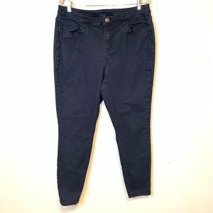 Lane Bryant Stretch Skinny Jeans Black size 18